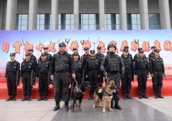济宁安保服务公司十分重视保安的培训!