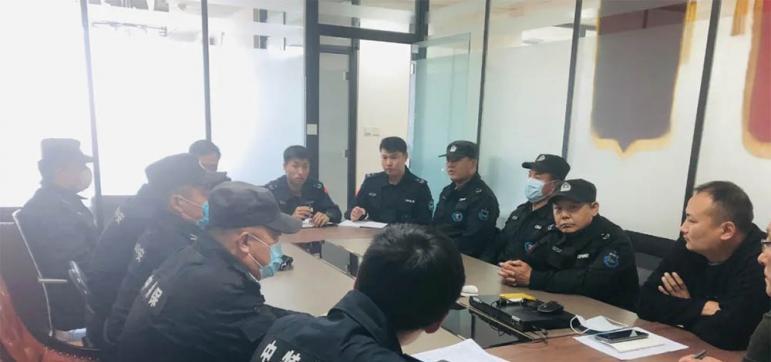 「济宁保安公司」防控一线筑堡垒,不忘初心保平安